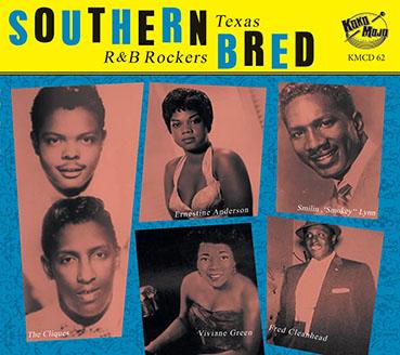 Southern Bred – Texas R&B Rockers Vol. 12-0