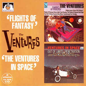 Flights Of Fantasy / The Ventures In Space-0