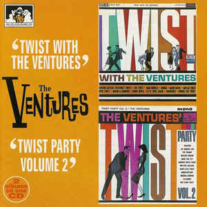 Twist With The Ventures / Twist Party Vol. 2-0