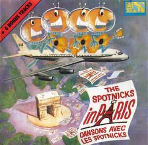 The Spotnicks In Paris (Dansons Avec Les Spotnicks) (+ 6 Bonus Tracks)-0