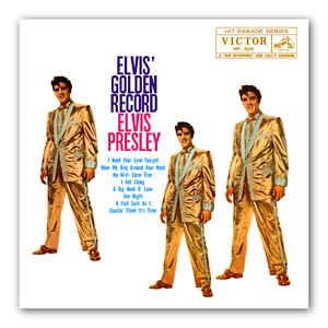 Elvis' Golden Record (Double split colour vinyl)-0
